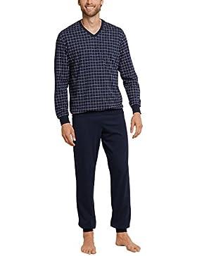 Schiesser Anzug Lang, Conjuntos de Pijama para Hombre