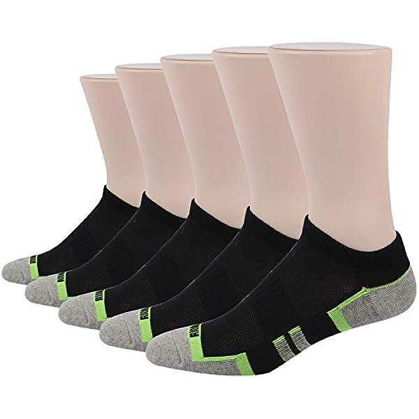 RioRiva Calcetines de deporte Calcetines de deporte Básico para hombre negro blanco agrisado