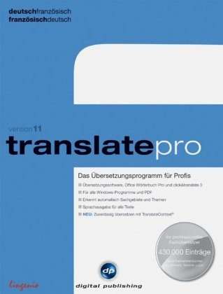 Translate Pro Deutsch Französisch Version 11