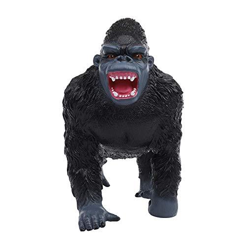 King Kong Figur Gorilla 30 cm Anime Godzilla Orang-Utan AFFE PVC 3D Schimpanse Modell(#2) (King Kong Kostüm Kind)
