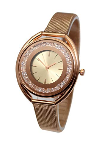 Souris D'or Damen Uhr Analog mit Armband CF4