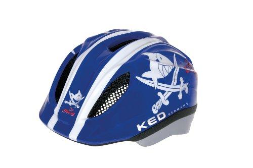 KED Unisex Fahrradhelm Meggy Original, mehrfarbig (Sharky Blue) , 49-55