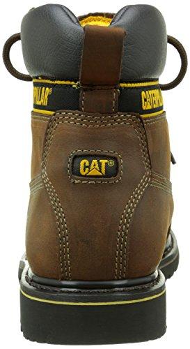 Cat Holton Sb, Stivali Chelsea Uomo Marrone (Dark Brown)