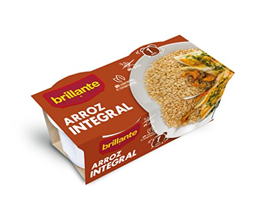 Brillante Arroz Integral - Pack 2 x 125 g - Total: