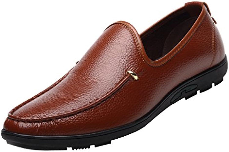 Männer Lässig Leder Fahren Erbsen Schuhe  Billig und erschwinglich Im Verkauf