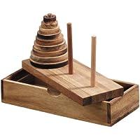 Logica Giochi, art. TORRE DE HANOI 9 DISCOS - Rompecabezas de madera - Peluches y Puzzles precios baratos