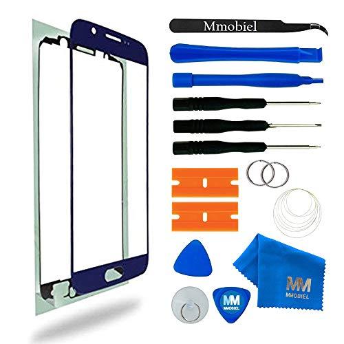 MMOBIEL Kit de Reemplazo de Pantalla Táctil para Samsung Galaxy S6 G920 Series (Blue) Incluye Pantalla de Vidrio/Cinta Adhesiva/Kit de Herramientas/Limpiador de Microfibra/Alambre Metálico