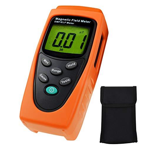 HandHeld Digitale EMF / ELF 30Hz zu 300Hz (mG) (μT) Einachsiger Digitaler Gauss Meter Tester Detektor