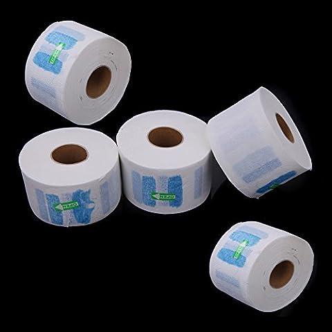 Anself 5pcs Jetable Serviette En Papier De Cou Couverture Pour
