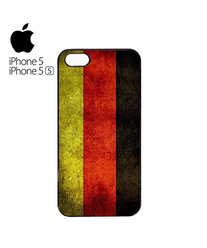 Germany Flag Vintage Retro German Deutschland Mobile Phone Case Cover iPhone 5c Black Blanc