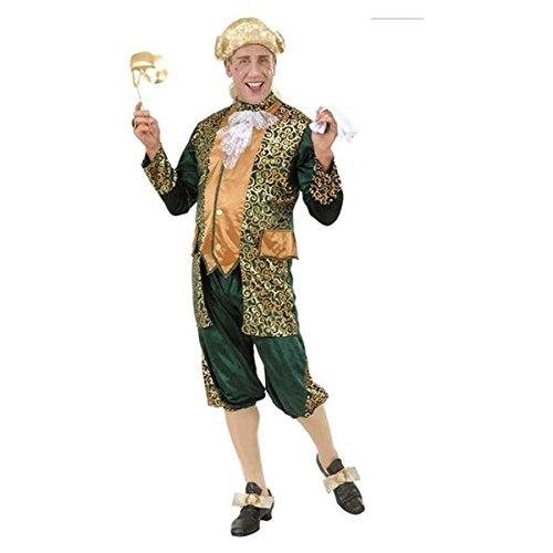 71932 costume marchese verde m in velluto e raso ves [elettronica]