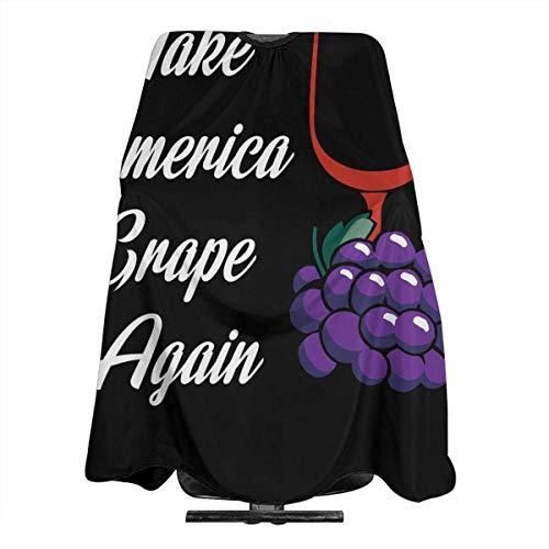 1930 Kinder Kostüm - Make America Grape Again Friseurschürze für Friseursalon, Friseurwerkzeug, Tuch zum Schneiden von Haaren, 5566 Zoll