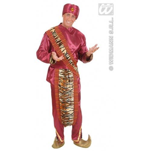 WIDMANN Maharaja Kostüm Medium für Fernsehwerbung &