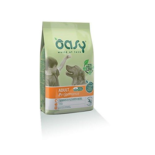 OASY Alimento secco per cane adult performance 3kg - Mangimi secchi per cani