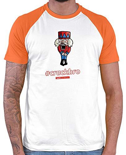 HARIZ  Herren Baseball Shirt Pixbros Crackbro Xmas -