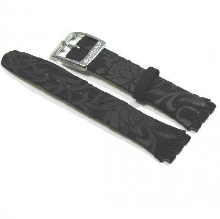 SWATCH Ersatzband Black Flower 17mm (AYLS146)