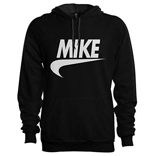 King of Shirts Mike Hoodie Kapuzenpullover Geschenk für Männer Small Schwarz (Hollister Männer Hoodies)