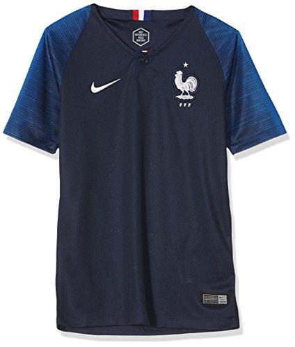 Nike 893989 - Partes de Arriba de Ropa Deportiva para fútbol (Mujeres, Camisa, M, Azul, Imagen)