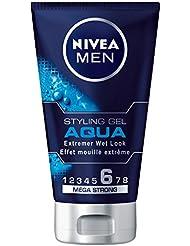 Nivea Men Styling Gel Aqua Haar-Gel für Männer, 1er Pack (1x 150 ml)