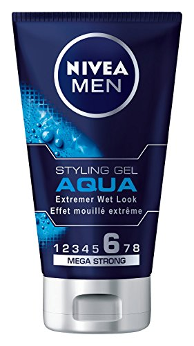 Nivea Men Styling Gel Aqua Haar-Gel, 1er Pack (1 x 150 ml)