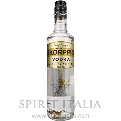 Skorppio Vodka - mit echtem Skorpion 37,50% 0.7 l.