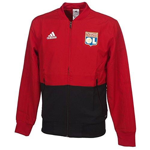 low priced 3d40b d917d adidas Olympique Lyonnais – Chaqueta de presentación Hombre, Olympique  Lyonnais, Hombre, Color Power