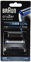 Braun Cruzer series razor screen foil and cutter blade
