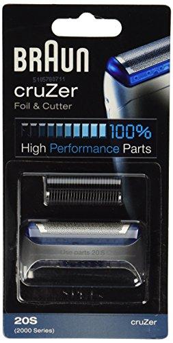 Braun Cruzer Serie Display Folie Und Messer Rasierklinge. -