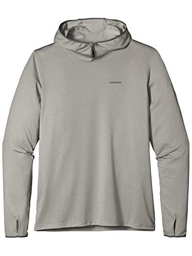 Herren Kapuzenpullover Patagonia Tropic Comfort II Hoodie tailored grey