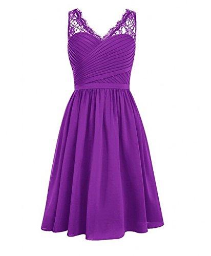KA Beauty - Robe - Fille Violett - Violett
