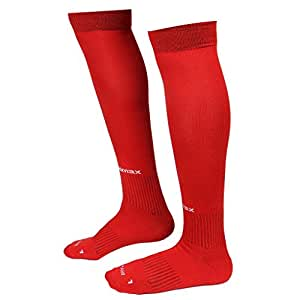 Willmax Football Sports Stocking Soccer Plus Red S