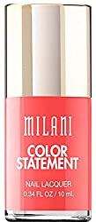 Corrupted Coral : Milani Color Statement Nail Lacquer, Corrupted Coral, 0.34 Fluid Ounce