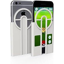 Custodia iPhone 6s & iPhone 7, Lanciatore Pokémon GO, Mobilyos® [ Pokémon GO Catcher ] [ iPhone 6s / 6 & iPhone 7 ] Risparmio di Pokéball + Bonus Esperienza, accessorio Pokemon GO
