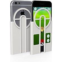 Coque iPhone 6s & iPhone 7, Lanceur Pokémon GO, Mobilyos® [ Pokémon GO Catcher ] [ iPhone 6s / 6 & iPhone 7 ] Economie de Pokéball + Bonus d'Expérience, accessoire Pokemon GO