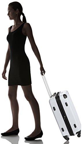 HAUPTSTADTKOFFER - Alex - Hartschalen-Koffer Koffer Trolley Rollkoffer Reisekoffer Erweiterbar, 4 Rollen, 65 cm, 74 Liter, Weiß - 8