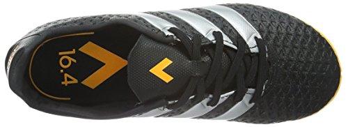 adidas Unisex-Kinder Ace 16.4 in Fußballschuhe Schwarz (Core Black/Silver Met./Solar Gold)