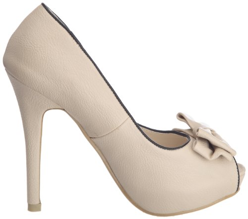 Friis & Company - Chiyemi, Scarpe col tacco Donna Avorio (nude)