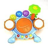 Saluja Toys Frog Drum Set/ Electronic Toys