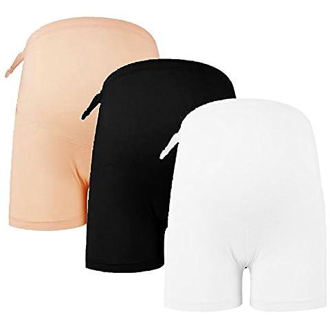Sasairy Damen Umstands Unterhose Maternity Boxershorts Panty für Schwangere