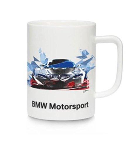 Original BMW Motorsport Tasse Kaffeebecher mit Griff 450ml 2017-19