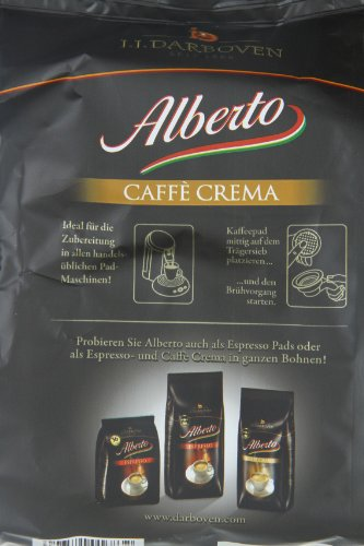 Darboven Alberto Kaffee-Pads Crema, 36er, 2er Pack (2 x 252 g)