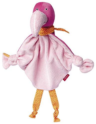 sigikid, Mädchen, Schnuffeltuch Flamingo, Pink, 41061