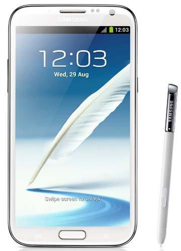 Samsung Galaxy Note 2 16GB Sim Free Smartphone – Ceramic White image