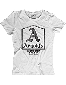 T-shirt Donna Arnold's - Inspired by Happy Days - 3stylercollection vintage