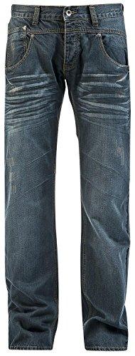 Forplay Stan Jeans blu scuro W36L35