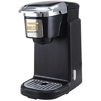 Dolché One, Cafetera para Café Americano en Cápsulas, K-Cups Keurig 2.0 y compatibles