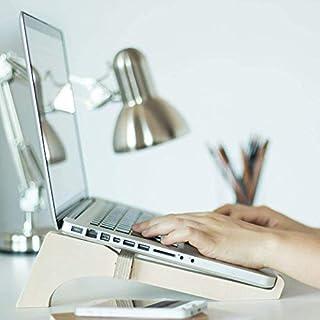 Desktop-Unterstützung für Laptop, aus Holz, Höhe, Neigung und geeignete Belüftung