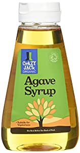 Crazy Jack Organic Agave Syrup 250ml-Pack of 3