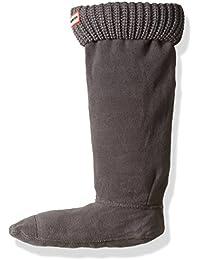 Hunter Negro Original Half Cardigan Stitch Boot Calcetines