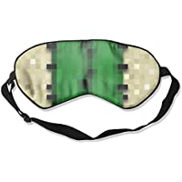 Average Cactus Pattern 99% Eyeshade Blinders Sleeping Eye Patch Eye Mask Blindfold For Travel Insomnia Meditation preisvergleich bei billige-tabletten.eu